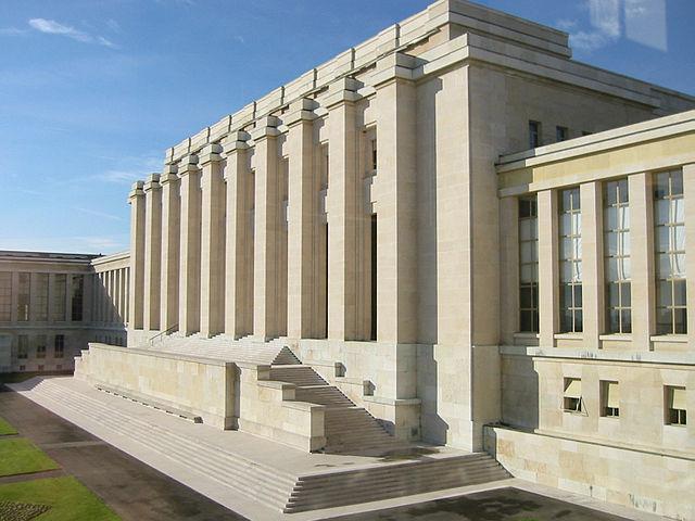 UN Gebaude Genf - 19. Ausschusssitzung